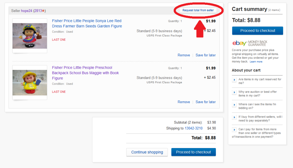 How To Request An EBay Invoice Elenas Closet - What is the best invoice app ebay store online