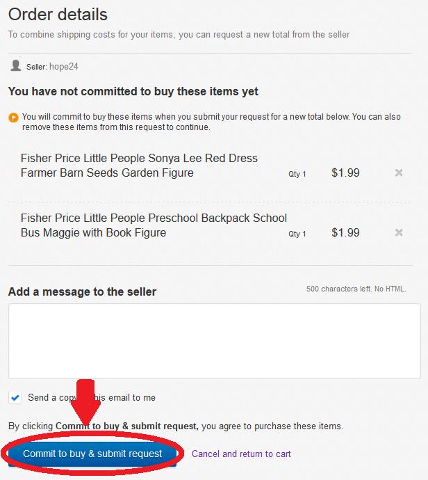 How To Request An Ebay Invoice Elena S Closet